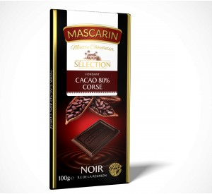 Mascarin Dark Fondant  80% cocoa full-bodied