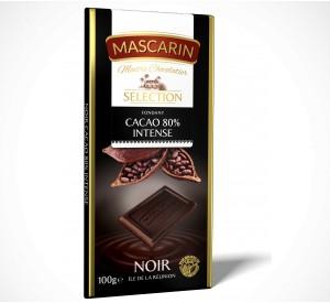 Fondant  Dark chocolate, 80% Intense