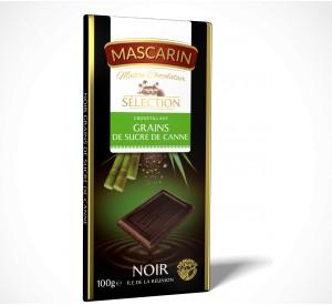 Mascarin Dark Crunchy Cane Sugar Crystals