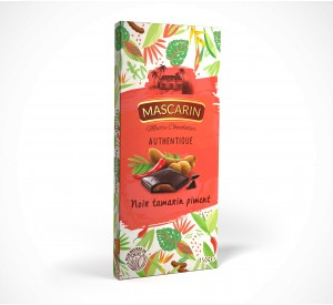 Mascarin Dark chocolate filled bar tamarind and chili