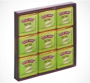 Box of 18 Dark Sugar Crystal Squares