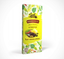 Mascarin Dark chocolate filled bar pineapple and chili