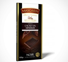 Mascarin Dark Fondant 72% Cocoa