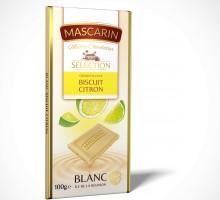 Blanc croustillant biscuit citron