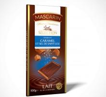 Chocolat Lait Croquant Caramel Sel de Saint Leu