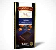 Noir Croquant Caramel Sel de Saint Leu